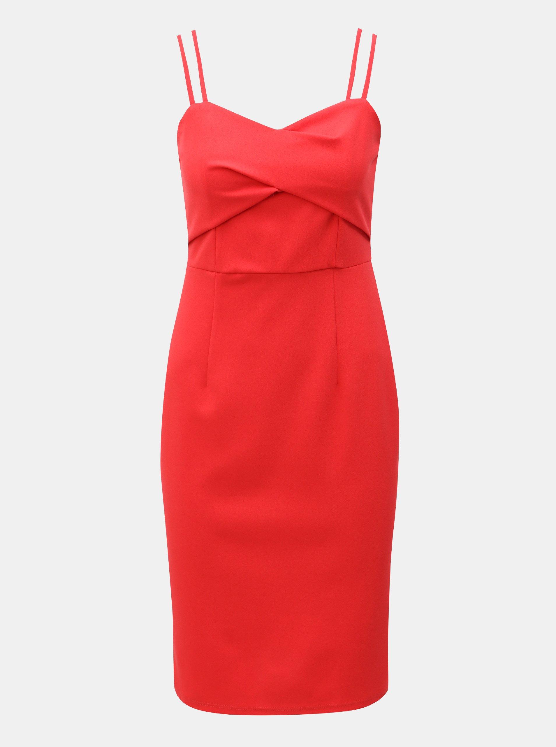 b2becb828b75 Červené šaty na ramienka Dorothy Perkins - Glami.sk
