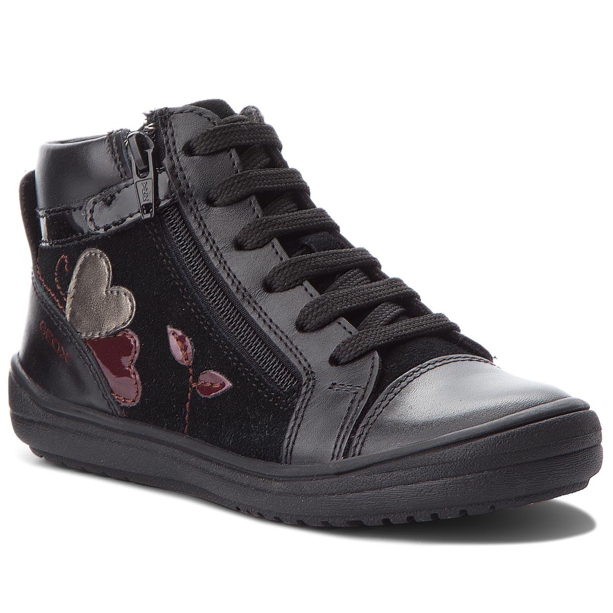 0506af67ce2 Kotníková obuv GEOX - J Hadriel G. A J847VA 08522 C9999 S Black ...