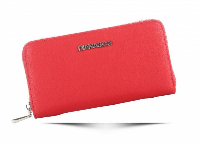 e50e0683013 Klasická Dámská peněženka Diana Co Firenze červená. Klasická Dámská  peněženka Diana Co Firenze červená. Klasická Dámská peněženka Diana Co  Firenze červená