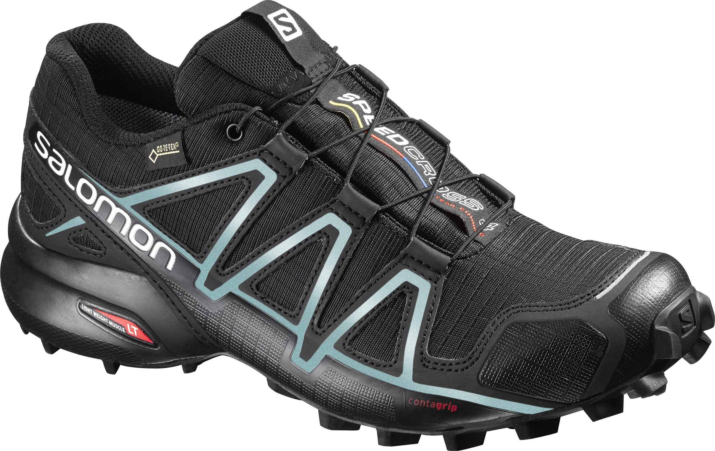 Trailové topánky Salomon SPEEDCROSS 4 GTX W BLACK BK Metallic B ... 3192f42d247