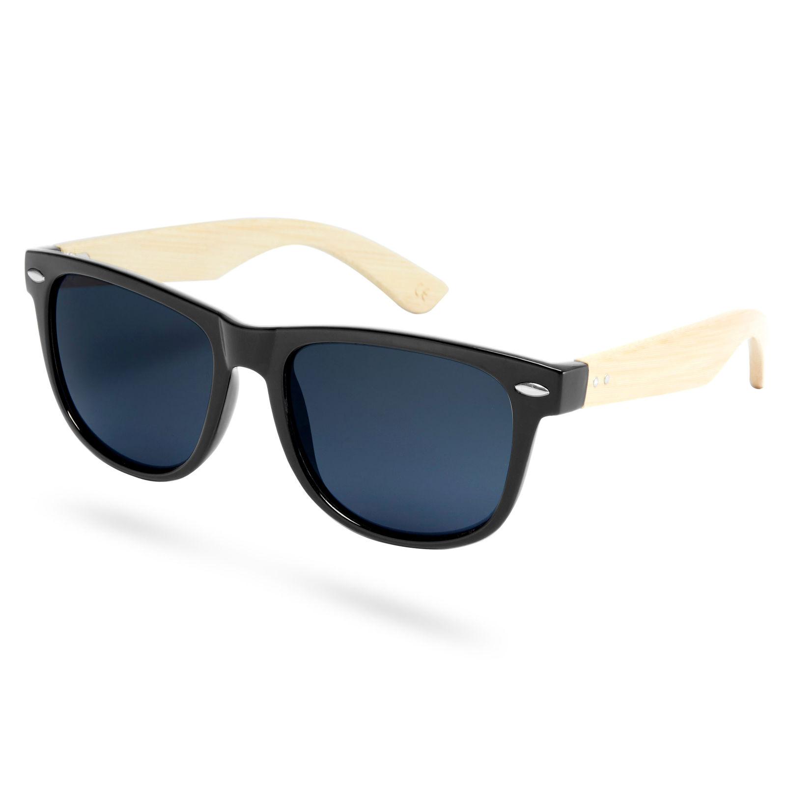 Paul Riley Fekete keretes sötétített napszemüveg bambuszszárakkal ... 3008ff59a7