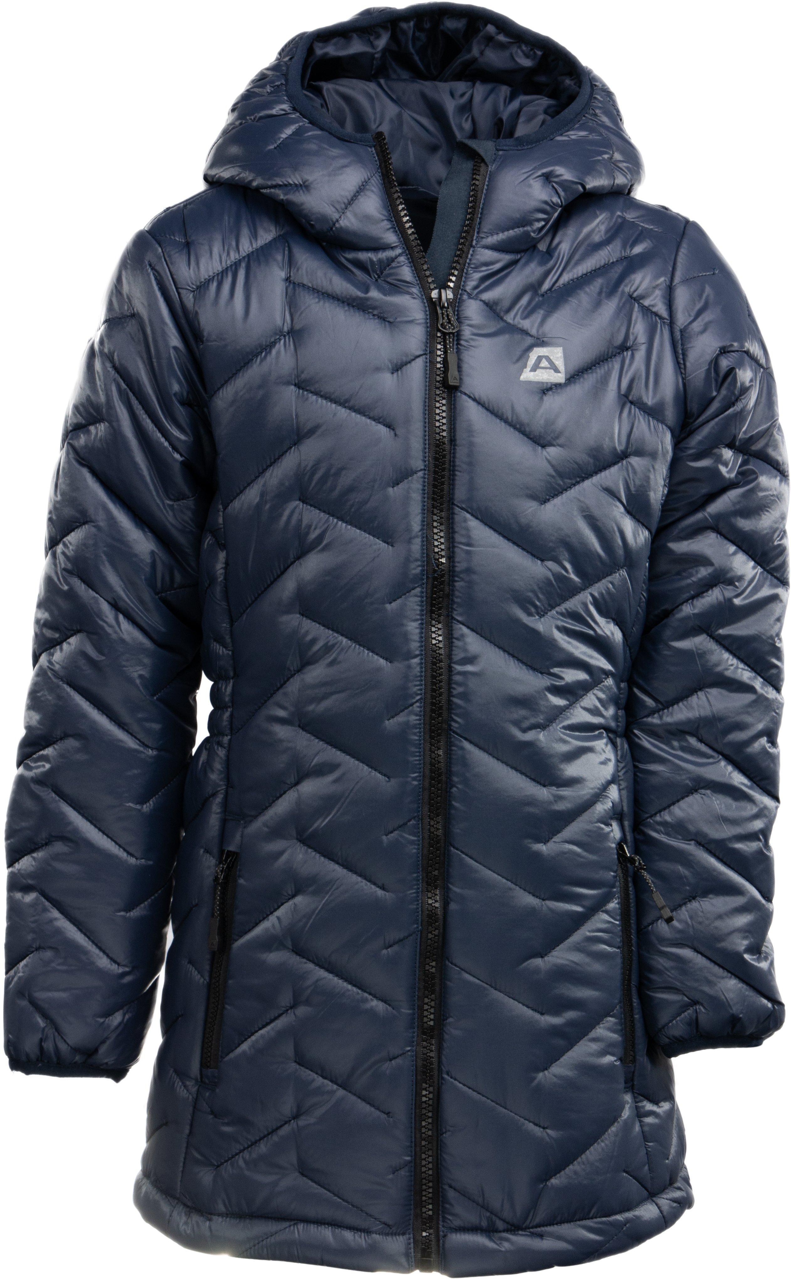 ALPINE PRO Dívčí kabátek ISSO- černé - Glami.cz 4224faa6d8