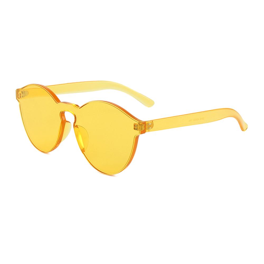 Hipsters Slnečné okuliare Mono Yellow - Glami.sk bb09402e427