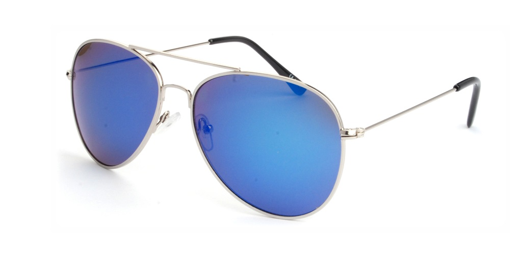 4ad8be1ed Hipsters Slnečné okuliare Aviator Pilot Blue - Glami.sk
