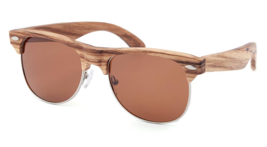 0193a7ad3 Hipsters Drevené slnečné okuliare Clubmaster Classic - Glami.sk