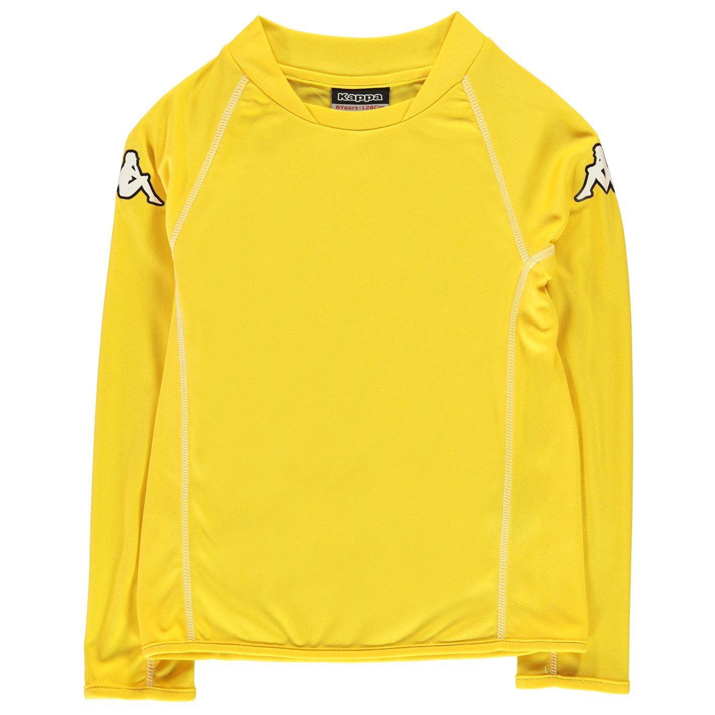 2c3f531e220ab Tričko s dlhým rukávom Kappa Masa Long Sleeve T Shirt Junior Boys ...