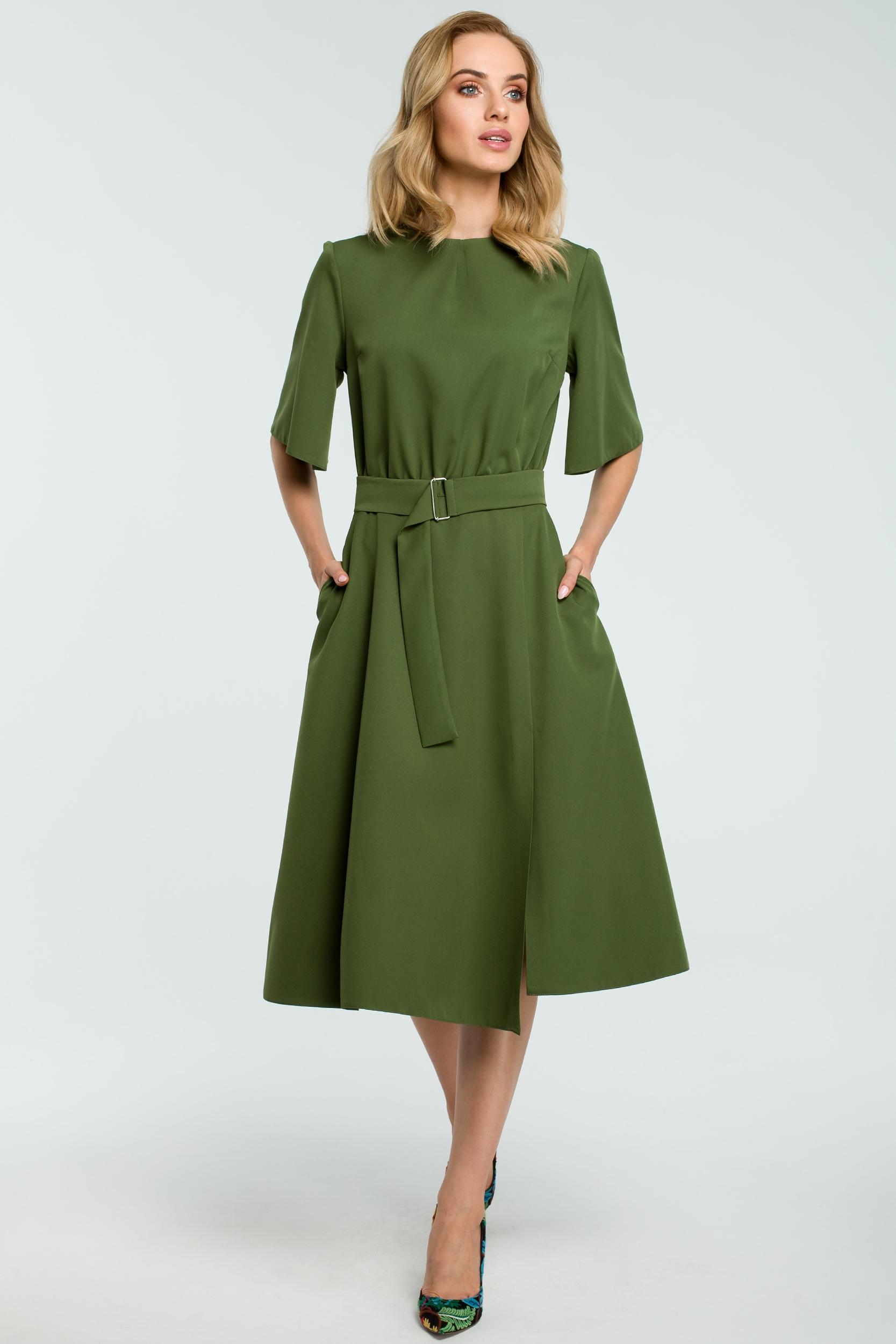 65d8c2c837d6 Zelené šaty Moe 396 - Glami.sk