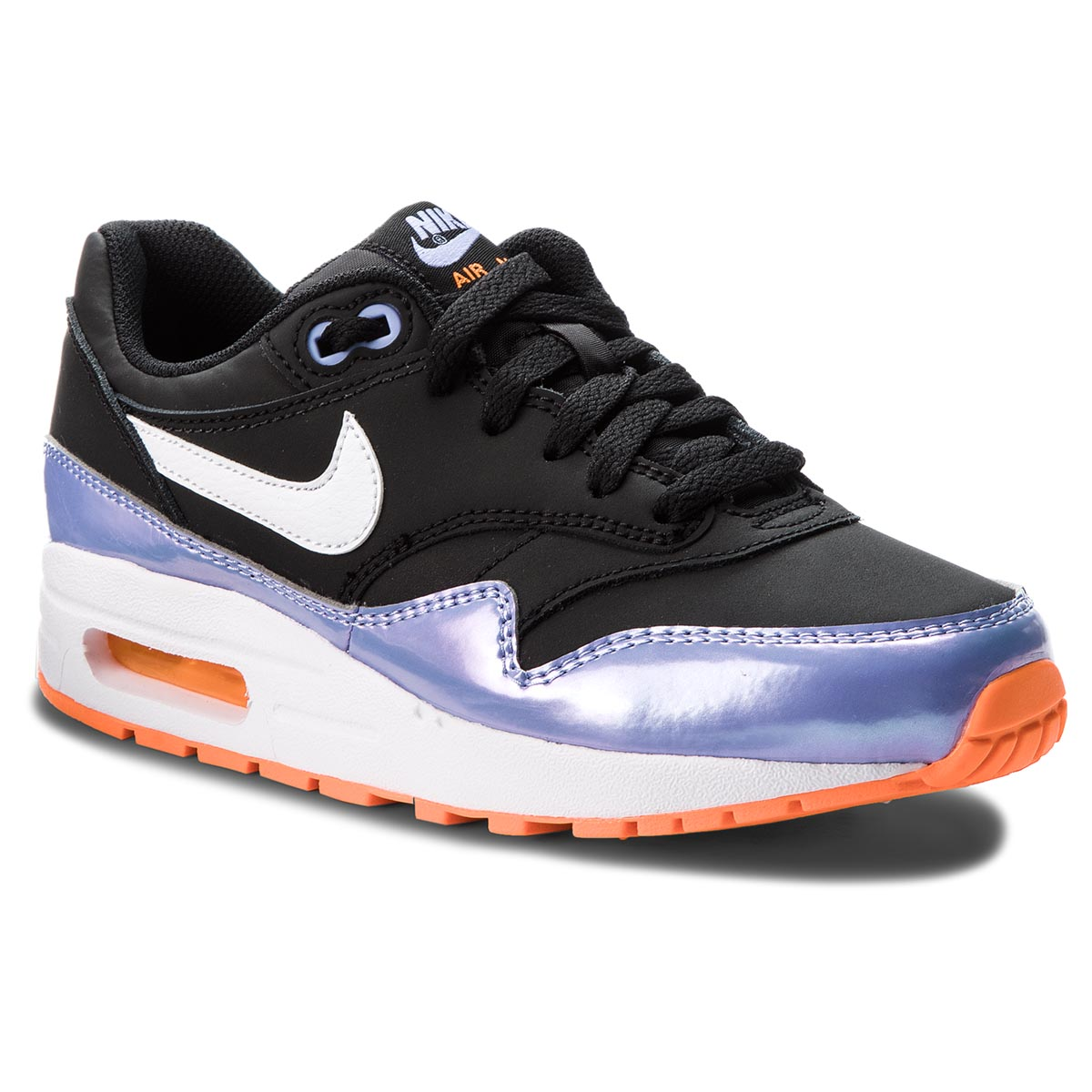 ... NIKE - Air Max 1 (GS) 807605 003 Black White Twilight. -14%. Cipő ... d81a31cc43