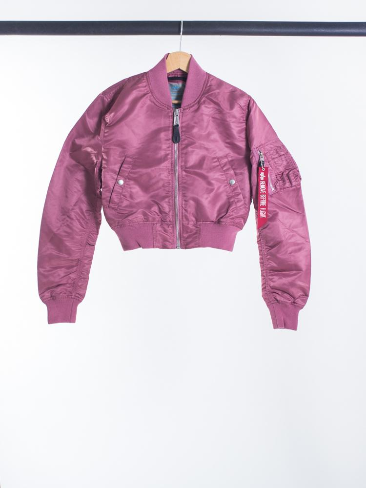 Alpha Industries Bomber Cropped Pink Copper MA-1 PM Women S - Glami.hu 34b6f64fcd