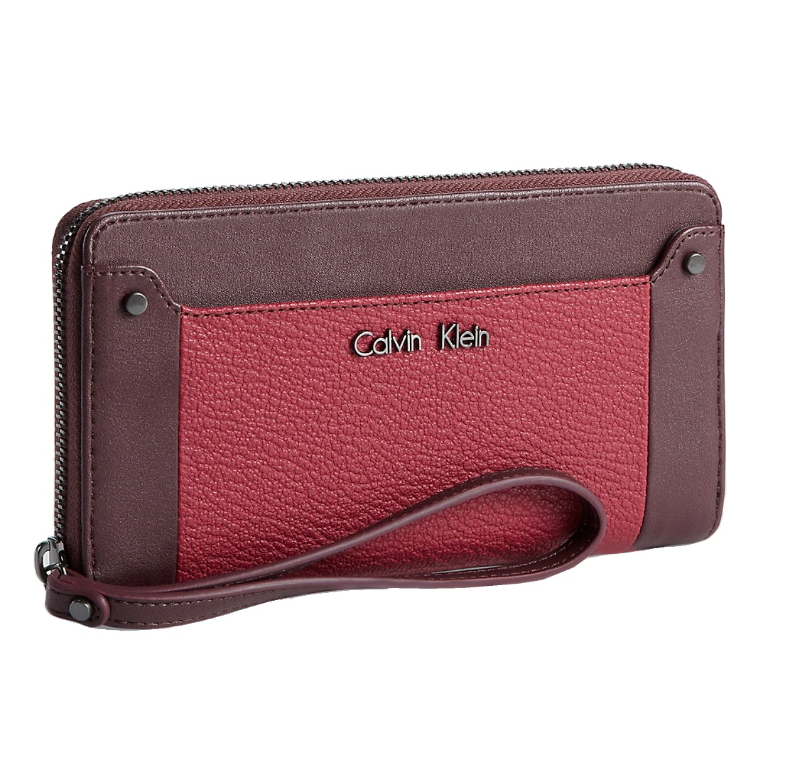 Calvin Klein dámská peněženka Hazen Zip Continental red - Glami.sk ee69354460a