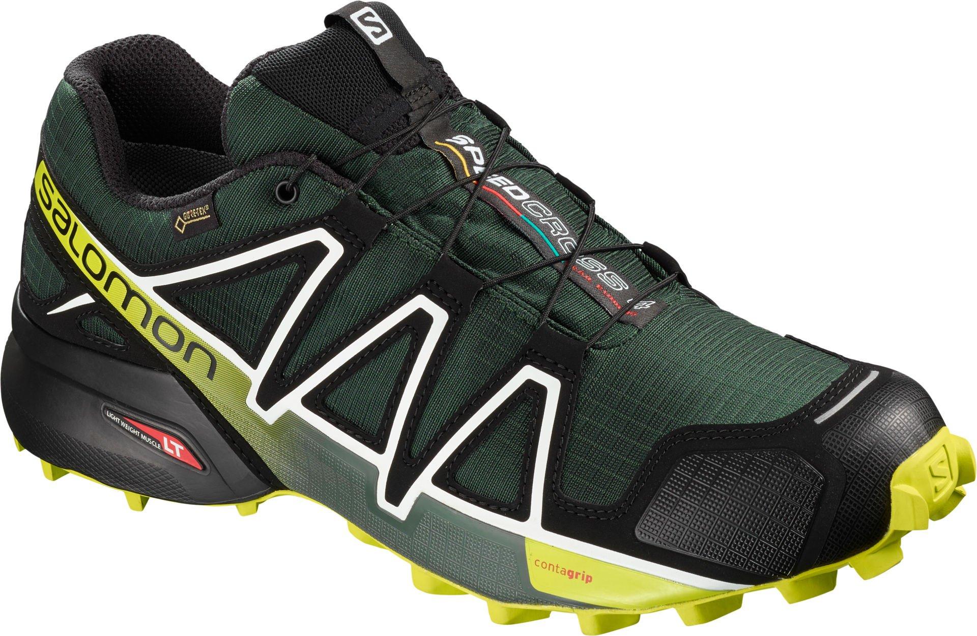 Trailové topánky Salomon SPEEDCROSS 4 GTX Darkest Sp Bk Aci ... 2060f5064b3