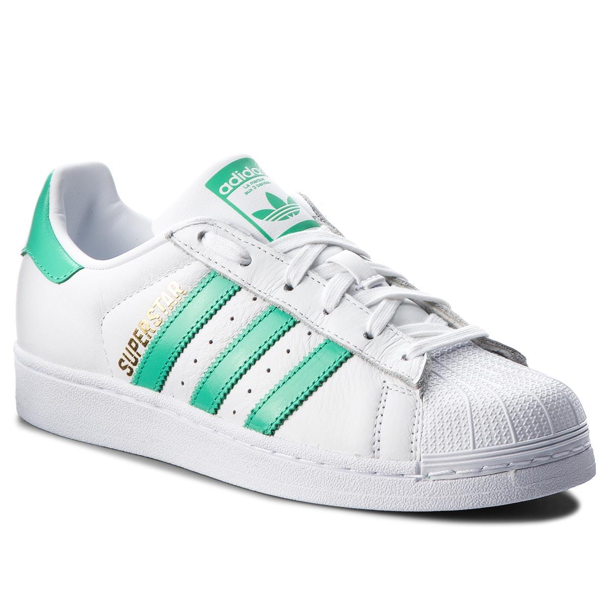 a96025639f Cipő adidas - Superstar B41995 Ftwwht/Hiregr/Goldmt - Glami.hu