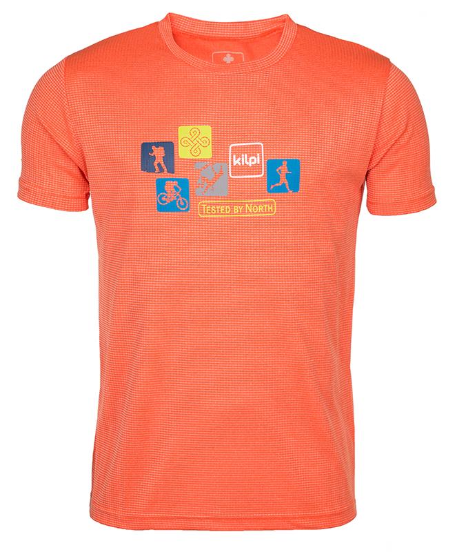 Pánske technické tričko Kilpi GIACINTO-M oranžová (kolekcia 2018) XXL. 1 afb93d77e6