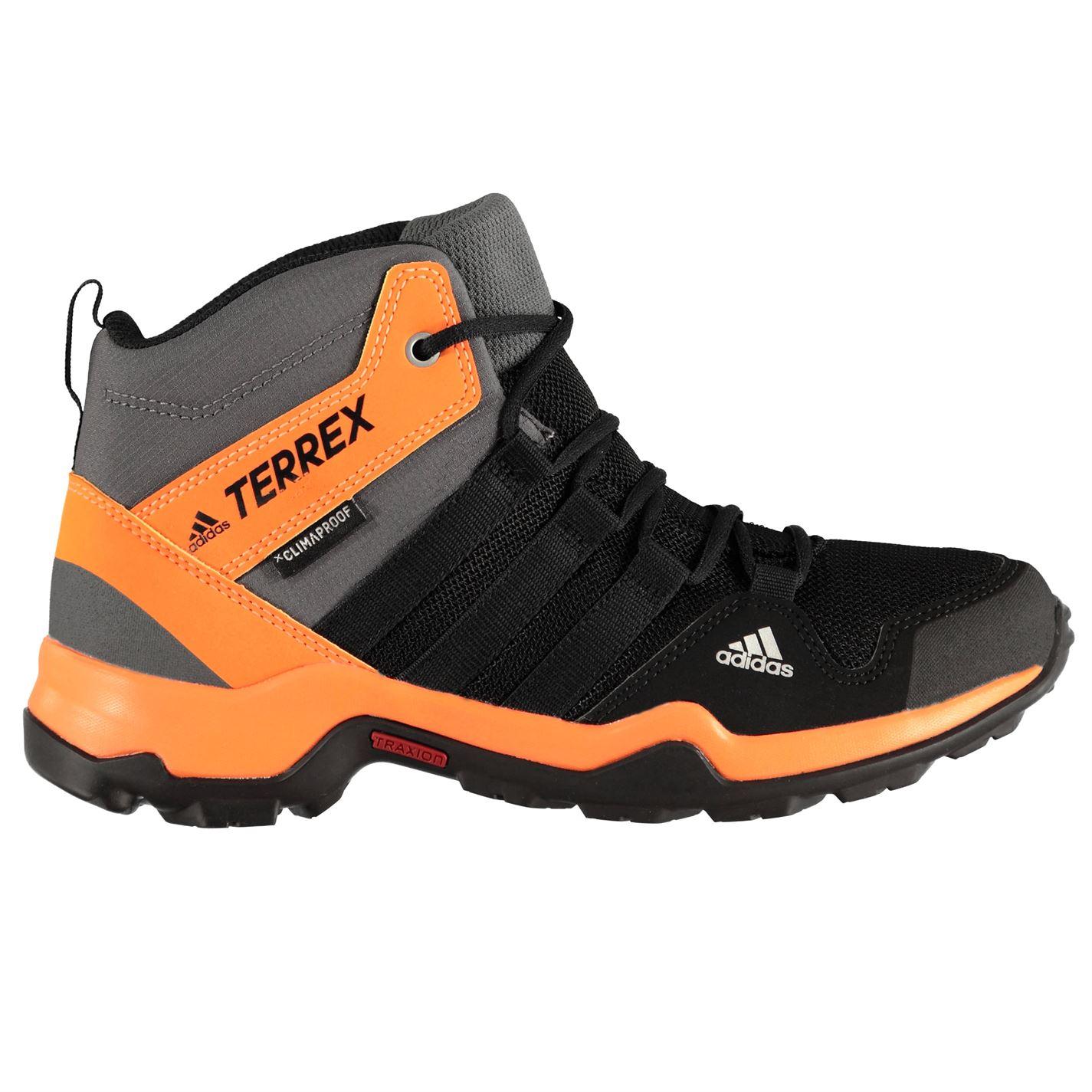 ... adidas TERREX AX2R Mid Dětská outdoorová obuv. -10% -8% d9fb4b7c086