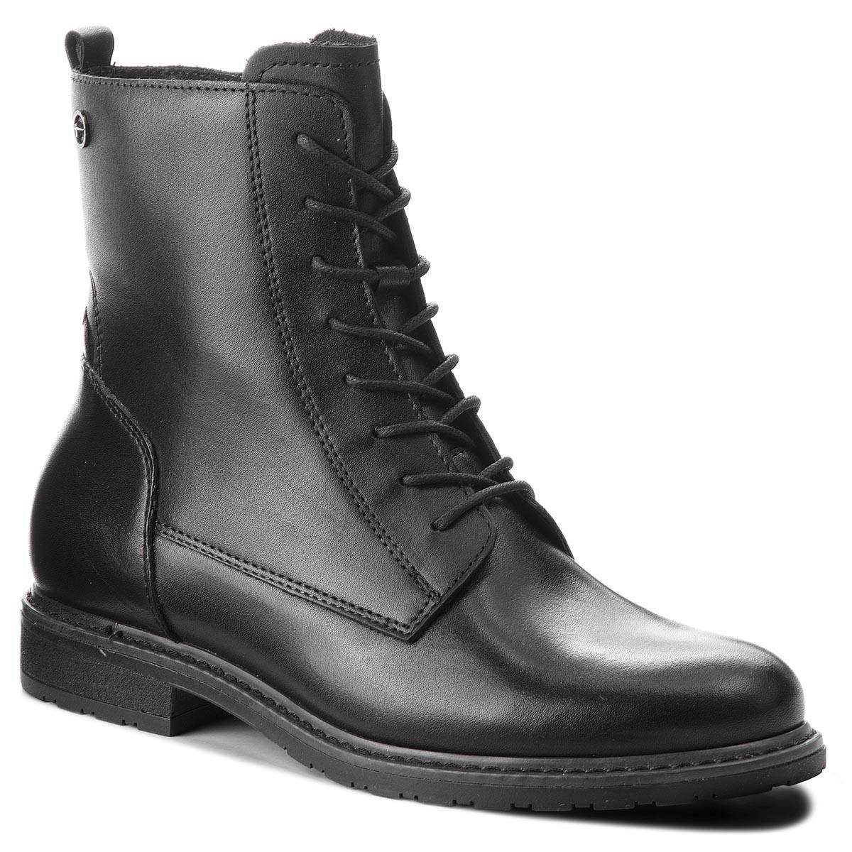 Magasított cipő TAMARIS - 1-25125-21 Black Leather 003 - Glami.hu e497e7611c
