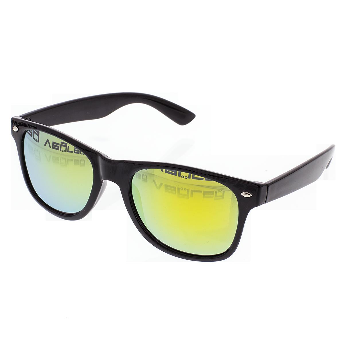 Napszemüveg VeyRey Nerd tükrös fekete sárga üveg - Glami.hu c62764c84e