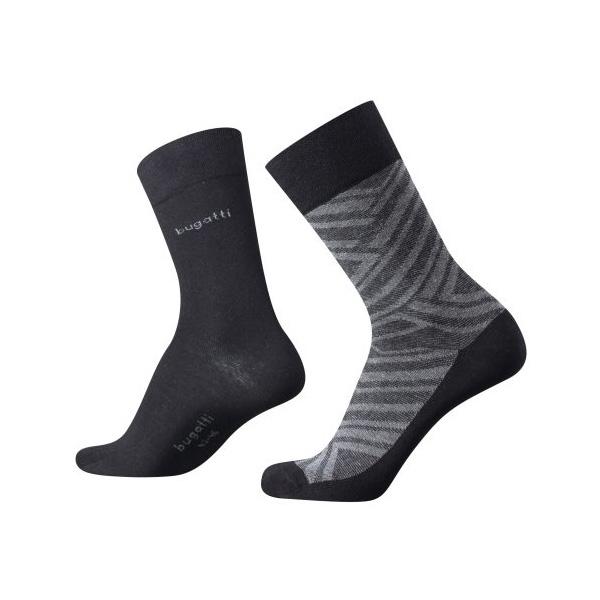 Pánske ponožky Bugatti Grafic Pattern (2 páry) - Glami.sk 9496e674ce