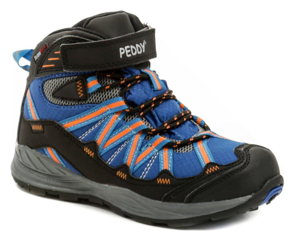 Peddy PV-509-27-03 modro oranžové kotníčkové zimní boty - Glami.cz bd1f0a892a