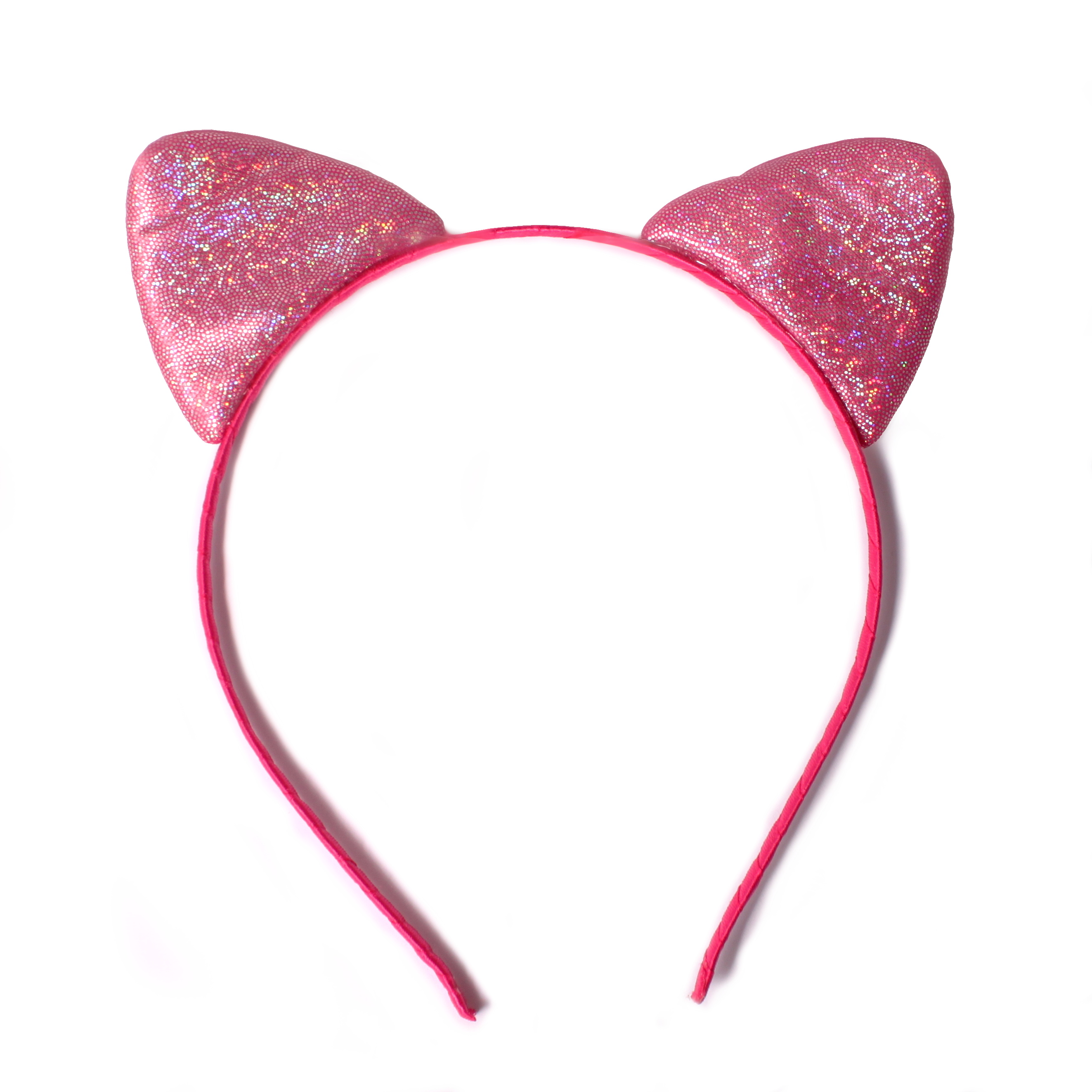 Hair-bizuterie Čelenka - kočičí uši Barva  tmavě růžová - Glami.cz eb8058d332