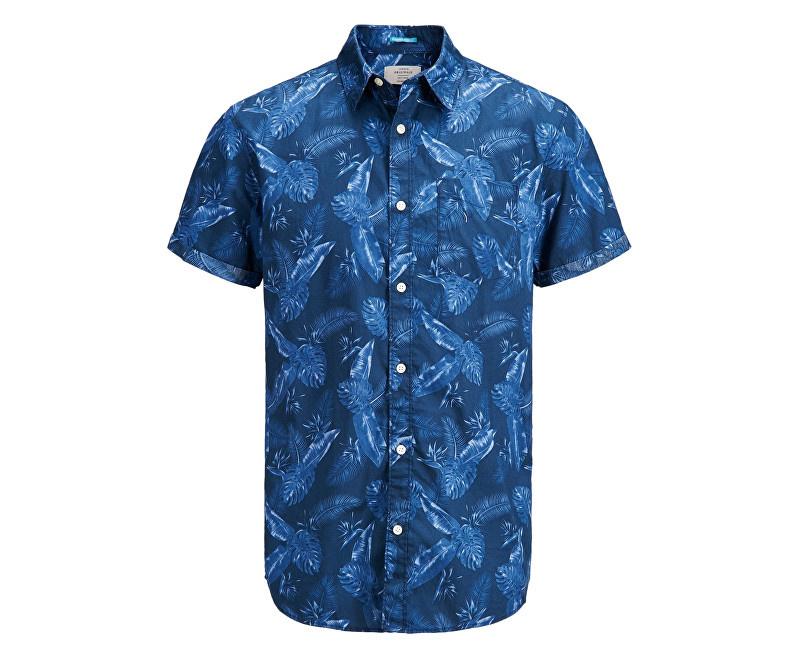 Jack Jones Pánská košile Jorpaka Shirt SS Dark Denim. Jack Jones Pánská  košile Jorpaka Shirt SS Dark Denim. Jack Jones Pánská košile ... fe18a8e9fa