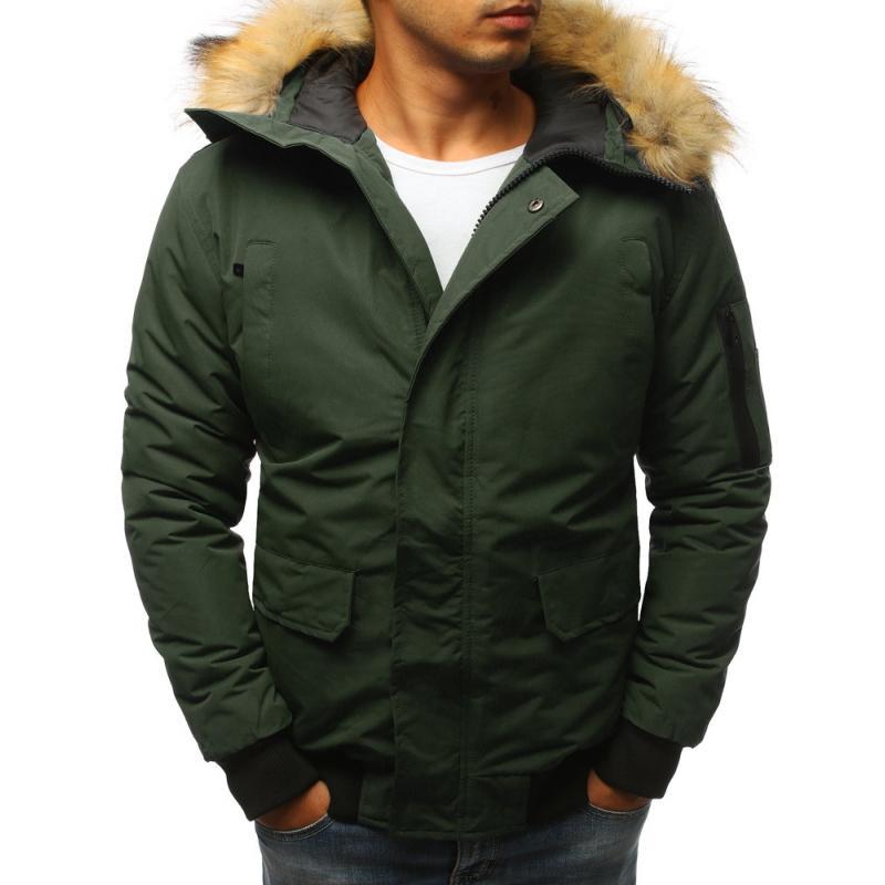 c3d8d331e7 Manstyle Férfi téli kabát zöld - Glami.hu