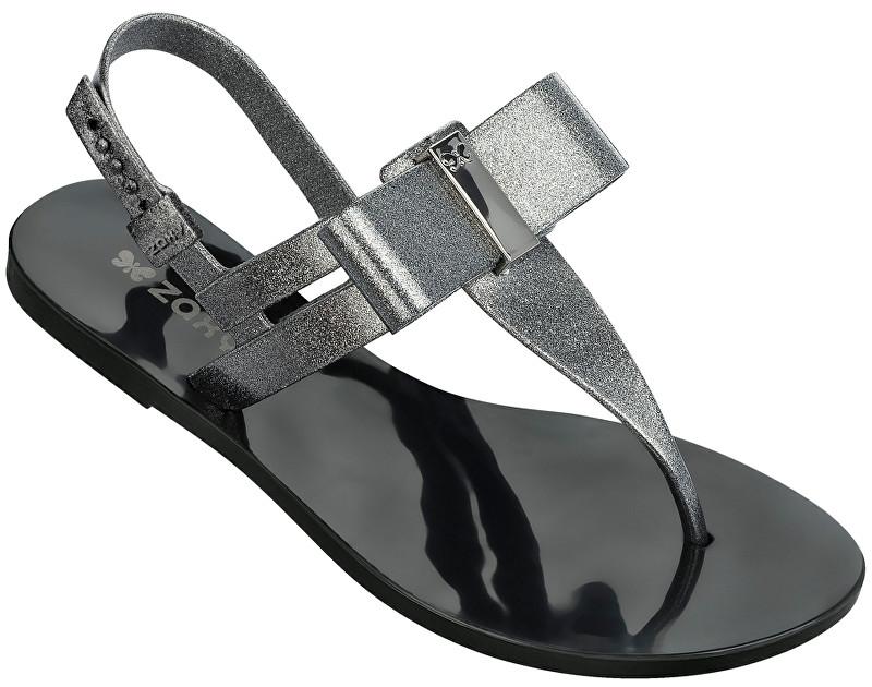 8e5fd249f5ca Zaxy Dámské sandály Glaze Sandal Fem 17201-90288 Glitter Black ...