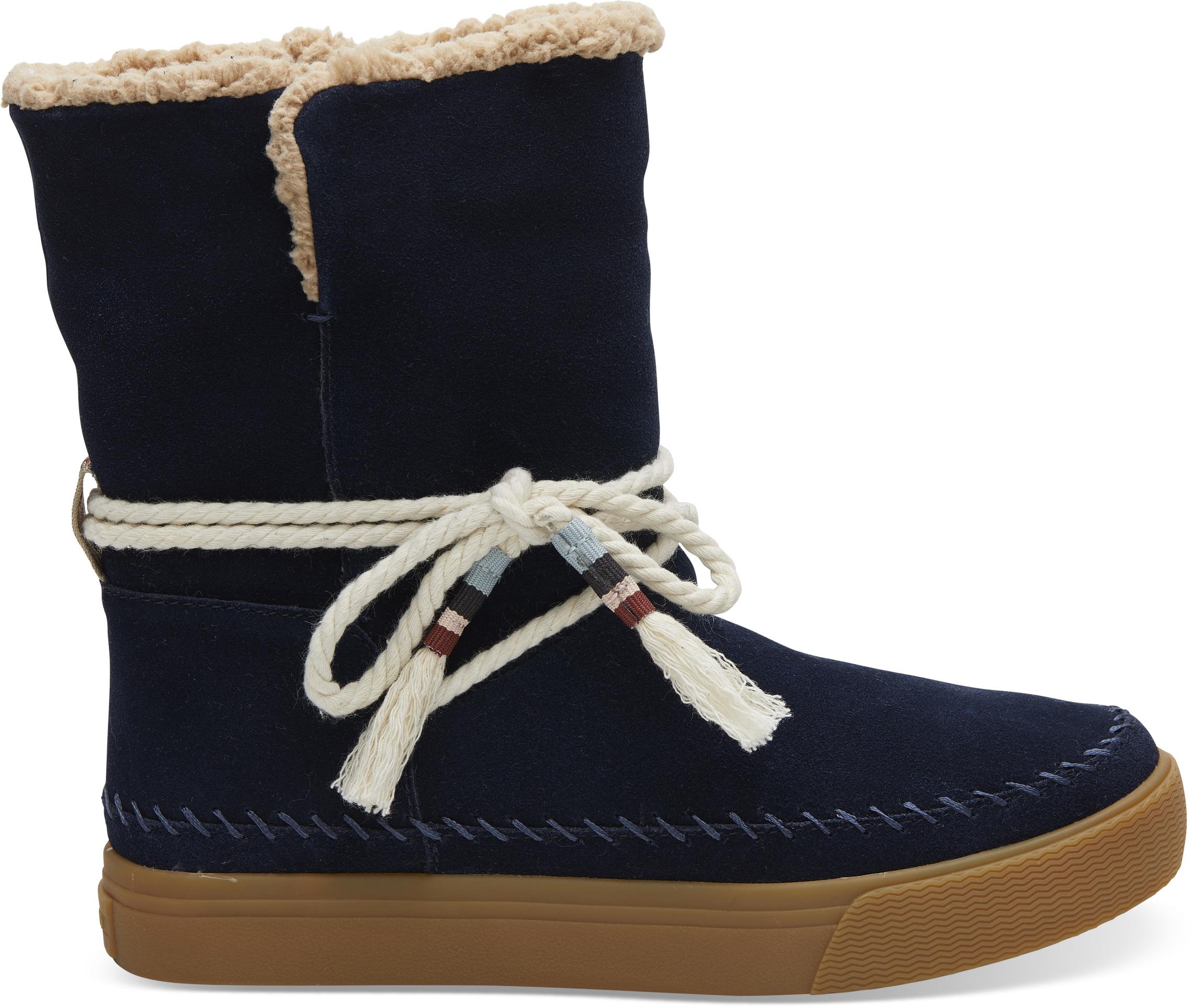 c1e7feb02f Dámske modré vysoké topánky TOMS Vista - Glami.sk