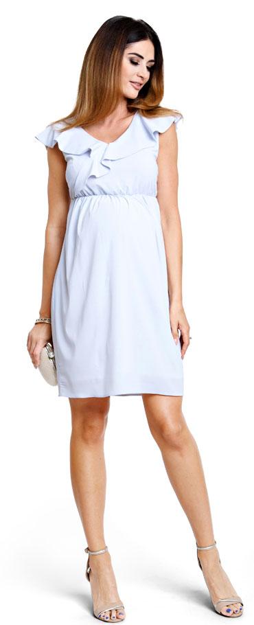 13368721a7 Happymum Tehotenské šaty Mystic grey dress (d896) - Glami.sk