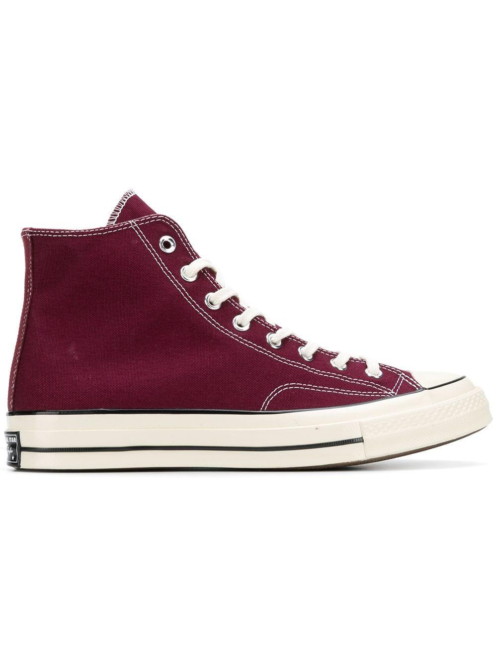 da4e13a2d02 Converse classic hi-top Chuck 70 sneakers - Red - Glami.sk