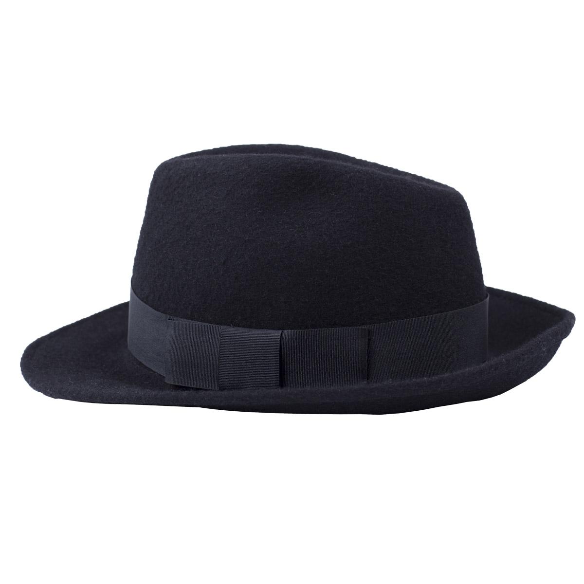 91bf2ae42dc Zapana Pánský společenský klobouk Gibaldi černý - Glami.cz