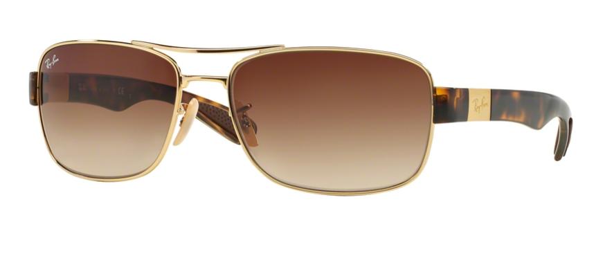 slnečné okuliare Ray-Ban RB 3522 001 13 - 61 17 135 - Glami.sk 00b9b9150ed