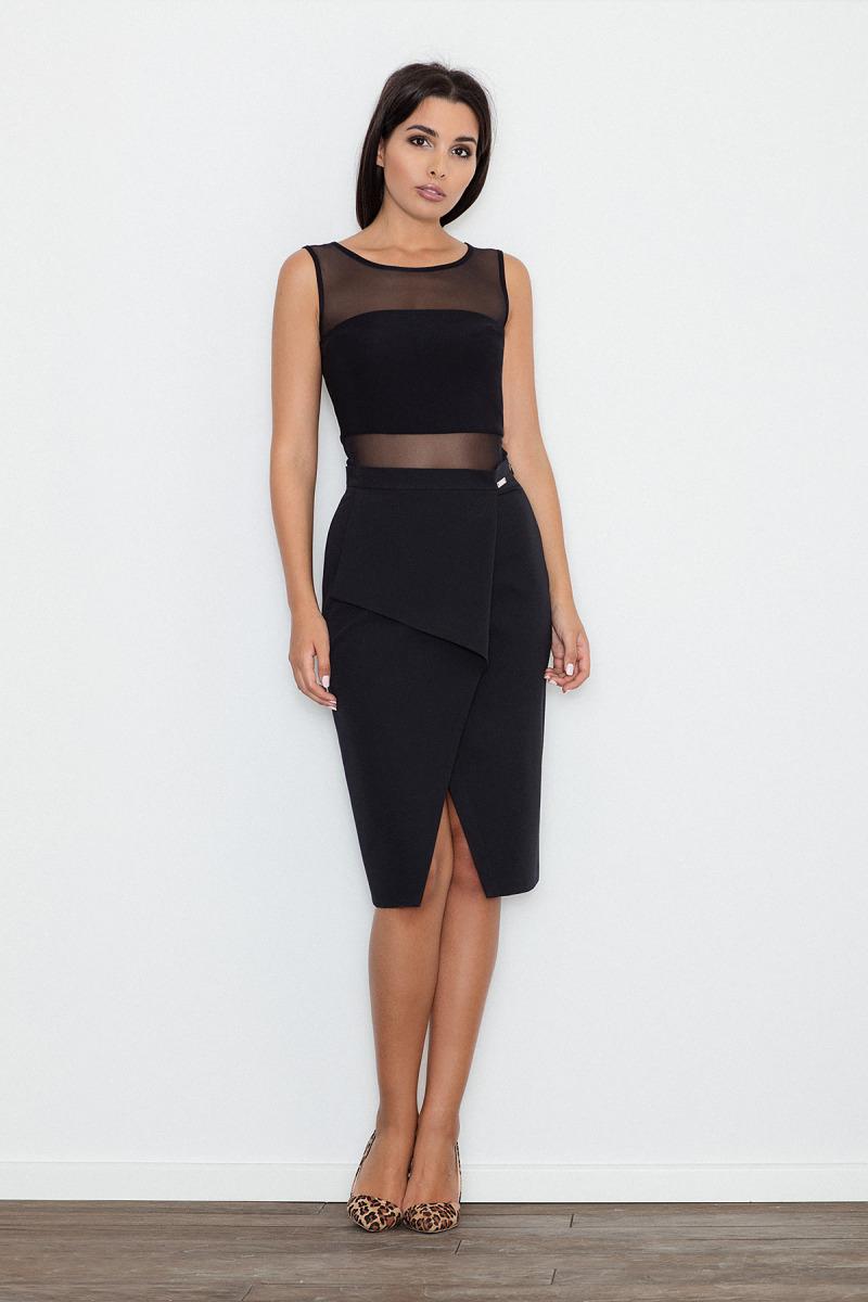 Elegantní sukně Figl M559 černá - Glami.cz 7dda3d6d71