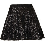 Topshop **Adele Sequin Skirt by TFNC