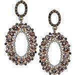 Topshop Premium Oval Drop Earrings