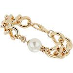 Topshop Gold Curb Chain Bracelet