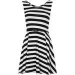 Topshop **Stripe Skater Dress by Love