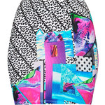 Topshop **Miami Mini Skirt by Illustrated People
