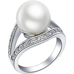 LightInTheBox Luxuriant Sliver With Ivory Pearl Women's Ring(1 Pc)