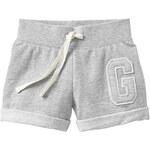 Gap Varsity Logo Gym Shorts - Heather gray