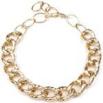 Náhrdelník kovový GOLD masivní (1 ks) - zlatá Stoklasa