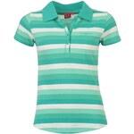 LA Gear Polo Shirt Ladies Teal/White 14 (L)