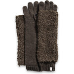 Esprit soft two-in-one knitted gloves