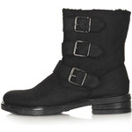 Topshop MARQUIS Multi Buckle Boots