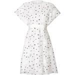 Giambattista Valli Short Sleeve Dot Flare Dress