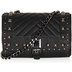 Topshop Pyramid Stud Crossbody Bag