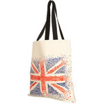 Topshop Union Jack Print Shopper