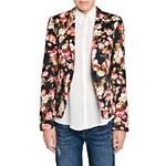Mango Floral print suit blazer