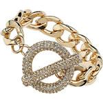 Topshop Premium Pave Clasp Bracelet