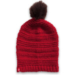 Esprit knitted hat with pompom