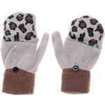 Terranova print mittens